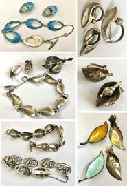 Danish Midcentury Sterling Jewelry