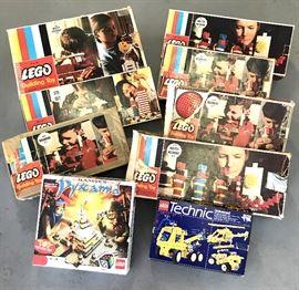 Legos 1960s incl Master Builder Set
