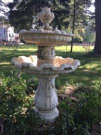 Incredible Antique Fountain