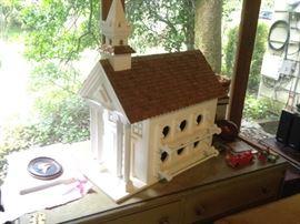 church style birdhouse