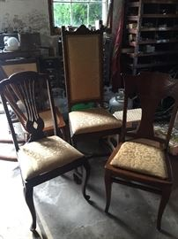 antique chairs-all styles and sizes
