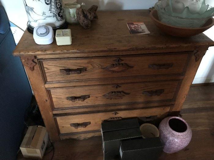 3 Drawer Antique Dresser $ 180.00