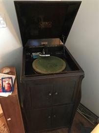 Antique Victrola Cabinet $ 280.00