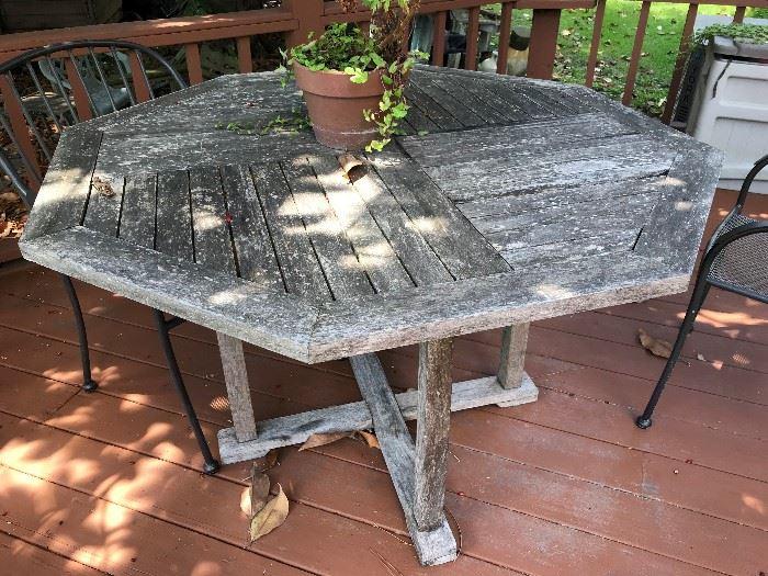 Teak Table $ 160.00