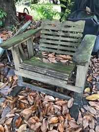 Wood Chair - $ 80.00