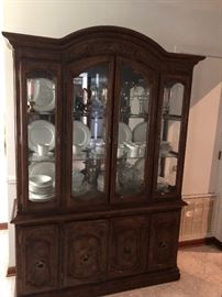 nice large china cabinet and a great price too!