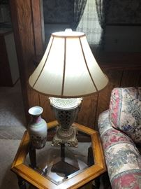 one of many lamps and end tables for sale at great prices