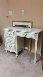 French Prov desk / dressing table