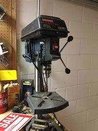 Drill press for your workbench