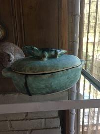 McCarty alligator dish $375.00