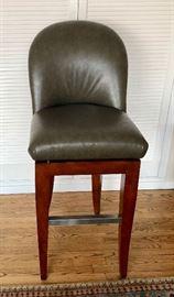 3 bar stools by A. Rudin