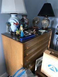 Mid modern bedside table
