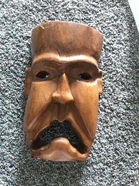African masks (several)