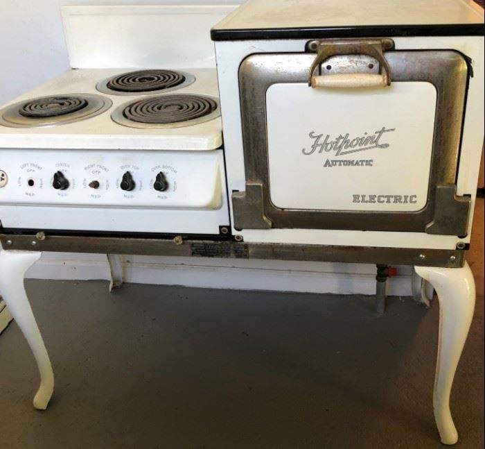 Hotpoint Automatic Electric Stove 1920's