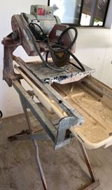 Made in America Tile Saw
