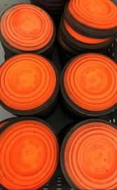 Orange Dome Clay Targets