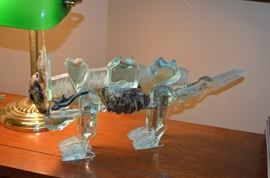 glass Art cat