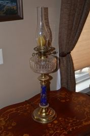 Oil lamp antique
