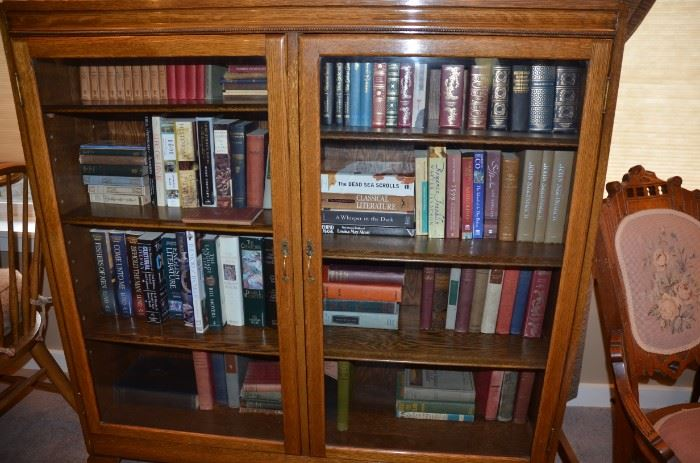 rare book collection, east lake furniture