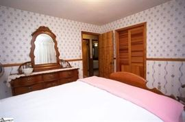 Oak bedroom suite $1200  Headboard & footboard $500 Triple dresser and mirror$500 Nightstand $300