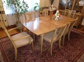 MCM DINING ROOM SET WITH CHINA CABINET