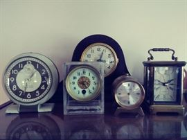 I just love all the clocks together as a colleciton