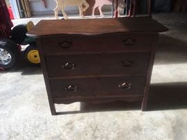 Very nice small wash stand or dresser the previous owner lived to be 100 & it was given to her by her parents