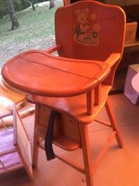 High chair from the 1960s great condition