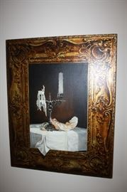 Original painting by Jeffrey Batchelor--called Trompe L'Still Life  $2500.00