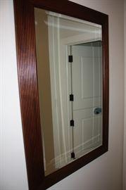 Ethan Allen beveled mirror  $75.00
