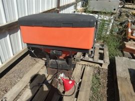 4 Curtis tractor mount spreader
