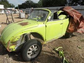 3 1974 Volkswagen bug convertible