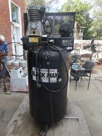 Blackmax 2 stage 80 gallon air compressor 6.5 HP