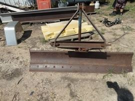 3 point blade for tractor