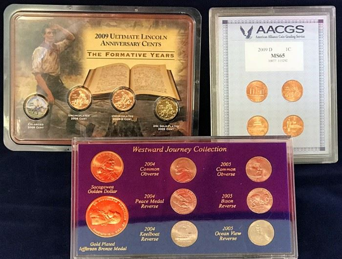 Westward Collection, AACGS 2009 Set, 2008 Lincoln Set