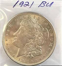 Morgan Dollar - 1921-P