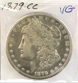 Morgan Dollar- 1879 Carson City