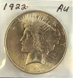 Peace Dollar- 1922