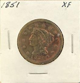 Large Cent- 1851