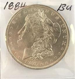 Morgan Dollar 1884-O