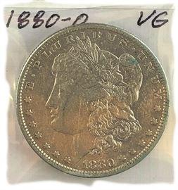 Morgan Dollar, 1880-O