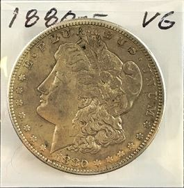 Morgan Dollar, 1880-S
