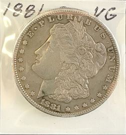 Morgan Dollar, 1881-S