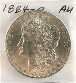 Morgan Dollar, 1884