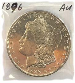 Morgan Dollar, 1896