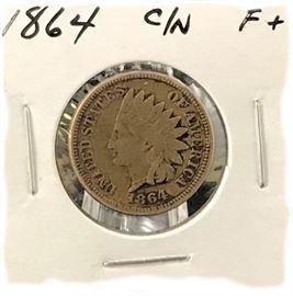Indian Cent, 1864 CN
