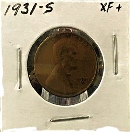 Lincoln Cent 1931-S