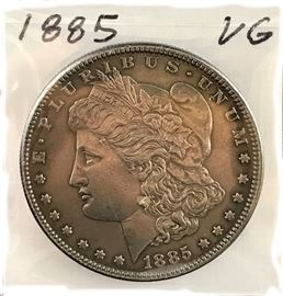 Morgan Dollar, 1885