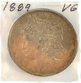 Morgan Dollar, 1889