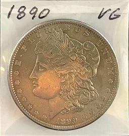 Morgan Dollar, 1890